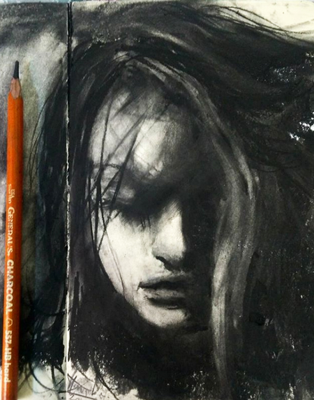charcoal-art