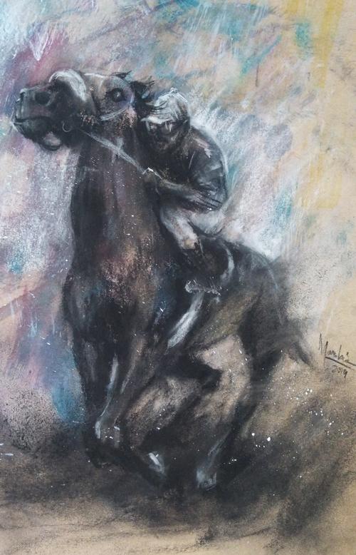 horse-mangabeira