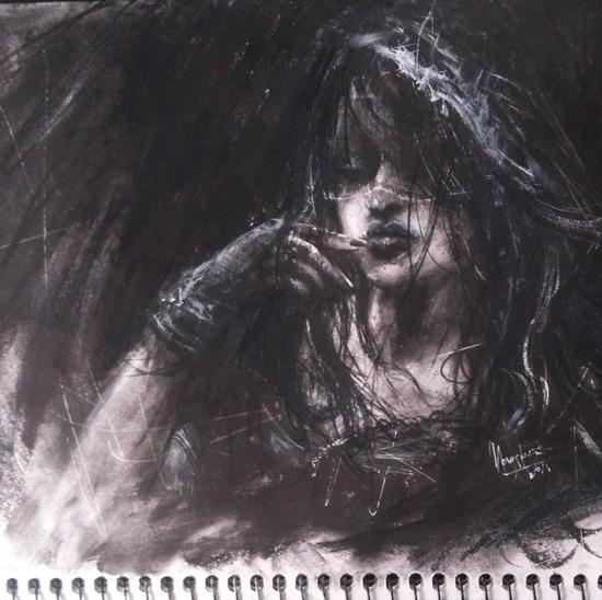 lady-charcoal